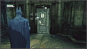 11 - Follow assassin using tracer device to locate Ras al Ghul | Main story - Main story - Batman: Arkham City Game Guide