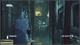 You shouldnt encounter any enemies on the station, so start searching for an interactive door in the northern part #1 - Follow assassin using tracer device to locate Ras al Ghul | Main story - Main story - Batman: Arkham City Game Guide