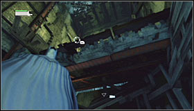 12 - Follow assassin using tracer device to locate Ras al Ghul | Main story - Main story - Batman: Arkham City Game Guide