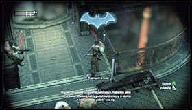 Inside the room you will face a new difficulty, a using the Detective Mode to trace enemy movement will be impossible at start #1 - Follow assassin using tracer device to locate Ra's al Ghul - Main story - Batman: Arkham City - Game Guide and Walkthrough