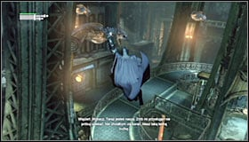 17 - Follow assassin using tracer device to locate Ra's al Ghul - Main story - Batman: Arkham City - Game Guide and Walkthrough