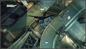 18 - Follow assassin using tracer device to locate Ras al Ghul | Main story - Main story - Batman: Arkham City Game Guide