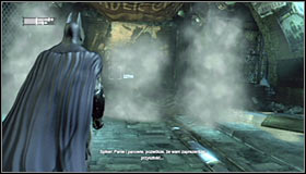 22 - Follow assassin using tracer device to locate Ras al Ghul | Main story - Main story - Batman: Arkham City Game Guide
