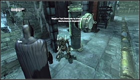 1 - Locate more Mechanical Guardians to fully reconstruct the video data - Main story - Batman: Arkham City - Game Guide and Walkthrough