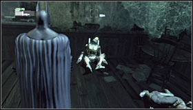 7 - Locate more Mechanical Guardians to fully reconstruct the video data - Main story - Batman: Arkham City - Game Guide and Walkthrough