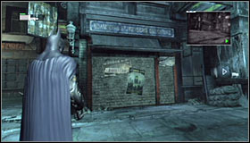 1 - Locate the secret entrance using the video data | Main story - Main story - Batman: Arkham City Game Guide