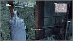 2 - Locate the secret entrance using the video data | Main story - Main story - Batman: Arkham City Game Guide