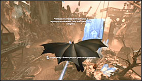 Thoroughly read the instruction displayed on the screen - Locate Ras al Ghul and obtain a sample of his blood | Main story - Main story - Batman: Arkham City Game Guide
