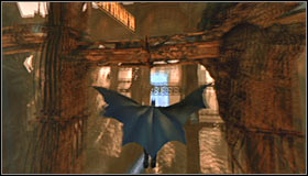 If youve done everything properly, you safely fly through the vortex and reach a new area, landing on top of a small tower #1 - Locate Ras al Ghul and obtain a sample of his blood | Main story - Main story - Batman: Arkham City Game Guide