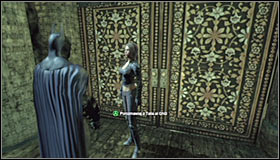 Note that you've returned to the same room to which Talia has brought you before - Locate Ra's al Ghul and obtain a sample of his blood - Main story - Batman: Arkham City - Game Guide and Walkthrough