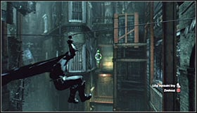 You should now be in the place where youve fought some enemies before - Return to the GCPD to deliver the blood of Ras al Ghul to Mister Freeze | Main story - Main story - Batman: Arkham City Game Guide