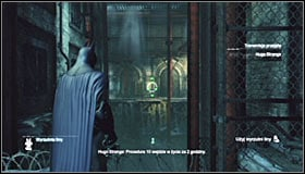 Now you can head south, eventually reaching the door connecting this location with the subway terminal #1 - Return to the GCPD to deliver the blood of Ras al Ghul to Mister Freeze | Main story - Main story - Batman: Arkham City Game Guide
