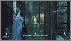 Now you can head south, eventually reaching the door connecting this location with the subway terminal #1 - Return to the GCPD to deliver the blood of Ra's al Ghul to Mister Freeze - Main story - Batman: Arkham City - Game Guide and Walkthrough