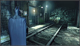 If, on the other hand, you want to use the lower level of the terminal, the best solution would be using the grates #1 - Return to the GCPD to deliver the blood of Ra's al Ghul to Mister Freeze - Main story - Batman: Arkham City - Game Guide and Walkthrough