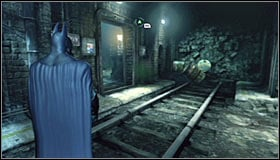 If, on the other hand, you want to use the lower level of the terminal, the best solution would be using the grates #1 - Return to the GCPD to deliver the blood of Ras al Ghul to Mister Freeze | Main story - Main story - Batman: Arkham City Game Guide