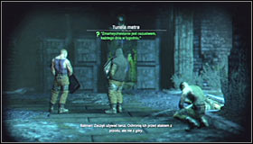After a few meters you will come across a locked door #1 In order to get further, you will have to use the Electrical Charge - Return to the GCPD to deliver the blood of Ras al Ghul to Mister Freeze | Main story - Main story - Batman: Arkham City Game Guide