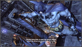 Keep fighting until you get rid of all the thugs - Interrogate Quincy Sharp for information on Hugo Strange | Main story - Main story - Batman: Arkham City Game Guide