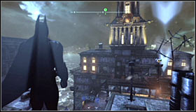 1 - Return to the GCPD to deliver the blood of Ras al Ghul to Mister Freeze (part 2) | Main story - Main story - Batman: Arkham City Game Guide