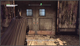 After youre done with them, choose the Remote Electric Charge and use it to partially raise the gate #1 - Return to the GCPD to deliver the blood of Ras al Ghul to Mister Freeze (part 2) | Main story - Main story - Batman: Arkham City Game Guide