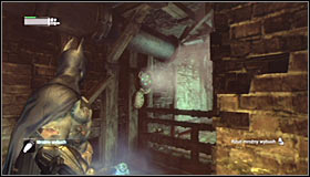Turn north and use the Freeze Blast to seal the pipe #1, thanks to which (after crouching down) you will be able to move on - Infiltrate the Steel Mill (part 2) | Main story - Main story - Batman: Arkham City Game Guide
