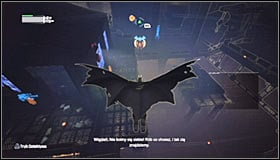 There is a total of seven armed enemies inside the Smelting Chamber and theres another major difficulty connected with them - Locate Joker in the Steel Mill | Main story - Main story - Batman: Arkham City Game Guide