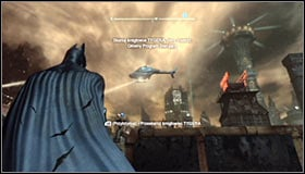 3 - Scan the TYGER helicopter to locate the Master Control Program | Main story - Main story - Batman: Arkham City Game Guide