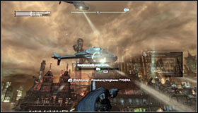 4 - Scan the TYGER helicopter to locate the Master Control Program | Main story - Main story - Batman: Arkham City Game Guide