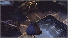 Choose the only possible corridor and eventually you will reach the Arkham City Processing Center, opening a passage using the Electrical Charge on your way #1 - Gain access to Wonder Tower | Main story - Main story - Batman: Arkham City Game Guide