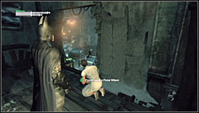 1 - Climb the observation deck to stop Protocol 10 | Main story - Main story - Batman: Arkham City Game Guide