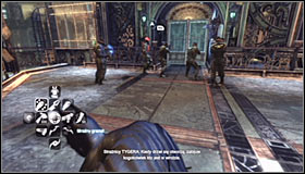 10 - Climb the observation deck to stop Protocol 10 | Main story - Main story - Batman: Arkham City Game Guide