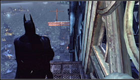 15 - Climb the observation deck to stop Protocol 10 | Main story - Main story - Batman: Arkham City Game Guide
