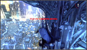 16 - Climb the observation deck to stop Protocol 10 | Main story - Main story - Batman: Arkham City Game Guide