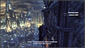 Now you will have to go round the whole Miracle Tower - Climb the observation deck to stop Protocol 10 | Main story - Main story - Batman: Arkham City Game Guide