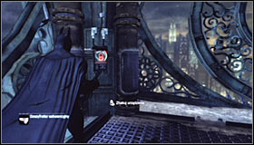 21 - Climb the observation deck to stop Protocol 10 | Main story - Main story - Batman: Arkham City Game Guide