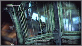 In order to complete finish the current objective, you will need to take care of all the enemies here, though there will be one additional difficulty here - Climb the observation deck to stop Protocol 10 | Main story - Main story - Batman: Arkham City Game Guide