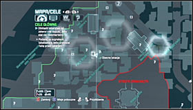 In order to reach the next sniper, you will have to return east - Follow tracker to save Talia from Joker | Main story - Main story - Batman: Arkham City Game Guide