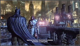 You will gain the chance to approach this mission while exploring Arkham City - Watcher in the Wings | Side missions - Side missions - Batman: Arkham City Game Guide