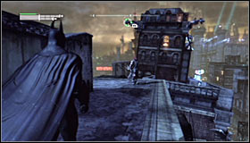 4 - Watcher in the Wings | Side missions - Side missions - Batman: Arkham City Game Guide