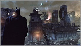 You will know you can approach this mission after a new distress flare appears on the Arkham City map #1, in the Amusement Mile district in the east - Fragile Alliance - p. 1 - Side missions - Batman: Arkham City - Game Guide and Walkthrough