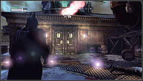 You need to reach the Krank Co - Fragile Alliance - p. 1 - Side missions - Batman: Arkham City - Game Guide and Walkthrough