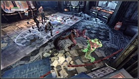 Detonating it will lead to a fight with a few Thugs, including a mini-boss Abramovici #2 - Fragile Alliance - p. 2 | Side missions - Side missions - Batman: Arkham City Game Guide