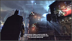 Find the last point, marked as Advanced AR Training 4 #1 - AR Training - Side missions - Batman: Arkham City - Game Guide and Walkthrough