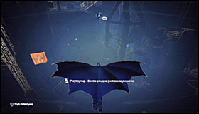 Just like with the other missions, you will now have to use the view of the bullets trajectory and find where the shot was fired from #1 - Shot in the Dark - p. 1 | Side missions - Side missions - Batman: Arkham City Game Guide