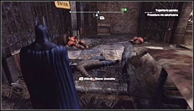 It would be of course good to attack them from above, using the element of surprise #1 - Shot in the Dark - p. 1 | Side missions - Side missions - Batman: Arkham City Game Guide
