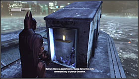 Pulling out the fourth one #1 should lead to discovering that this is the substation that Deadshot has been using and finding his equipment inside #2 - Shot in the Dark - p. 2 | Side missions - Side missions - Batman: Arkham City Game Guide