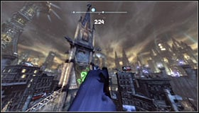 Open the map and find the Jack Ryder Assassination Location in the Bowery, in the western part of Arkham City #1 - Shot in the Dark - p. 2 | Side missions - Side missions - Batman: Arkham City Game Guide