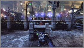 The game will automatically move to a new spot #1 and you will be forced to defeat Deadshot - Shot in the Dark - p. 2 | Side missions - Side missions - Batman: Arkham City Game Guide