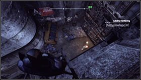 You will be informed of the possibility to approach this mission by a marker pointing an unidentified victim murder site appearing on the Arkham City #1 - Identity Theft - Side missions - Batman: Arkham City - Game Guide and Walkthrough
