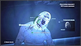 Press LB to turn on the Evidence Scanner - Identity Theft - Side missions - Batman: Arkham City - Game Guide and Walkthrough