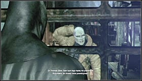 A cutscene will play during which you will listen to the journal #1 and meet doctor Thomas Elliot #2, the man who has stolen Bruce Waynes identity - Identity Theft | Side missions - Side missions - Batman: Arkham City Game Guide